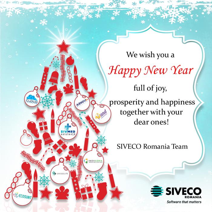 SIVECO Romania wishes you a Happy New Year! | SIVECO Romania